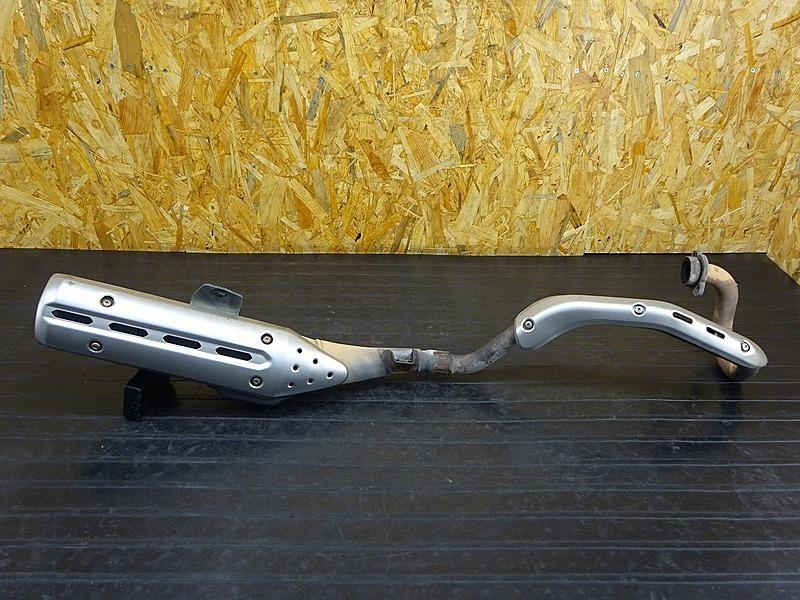 【200221】セロー250(DG17J-000)■ 純正マフラー エキパイ サイレンサー フランジ | 中古バイクパーツ通販・買取 ジャンクヤード鳥取 JunkYard