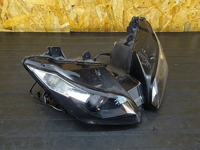 【200406】ZX-6R('13 ABS)■ 純正ヘッドライト 【ニンジャ Ninja ZX636F | 中古バイクパーツ通販・買取 ジャンクヤード鳥取 JunkYard