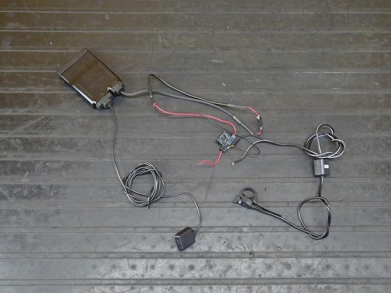 【210404】■ (1) ミツバ バイク用ETC MSC-BE61 アンテナ・インジケーター一体タイプ 分離型 MITSUBA 中古 USB電源付き | 中古バイクパーツ通販・買取 ジャンクヤード鳥取 JunkYard