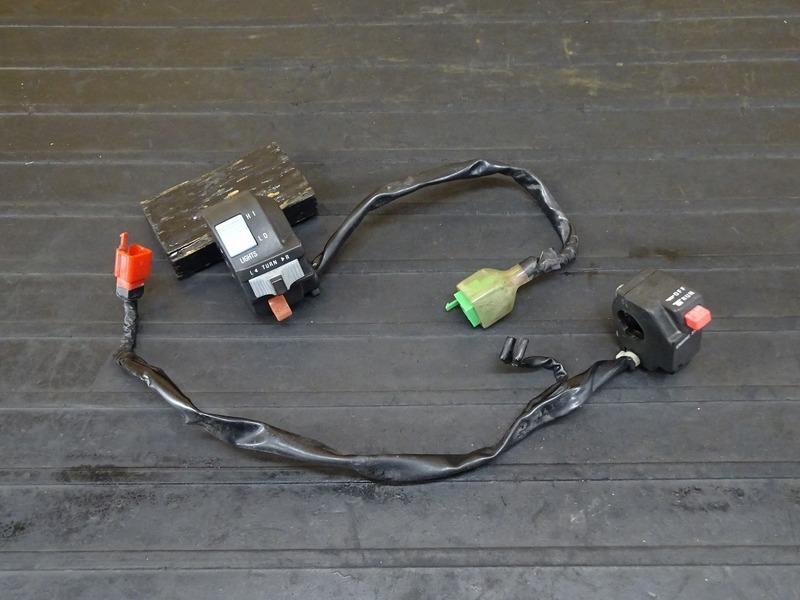 【210607】Dトラッカー/250SB■ ハンドルスイッチ左右セット スイッチボックス左右 ※検:KLX250 LX250E LX250L | 中古バイクパーツ通販・買取 ジャンクヤード鳥取 JunkYard