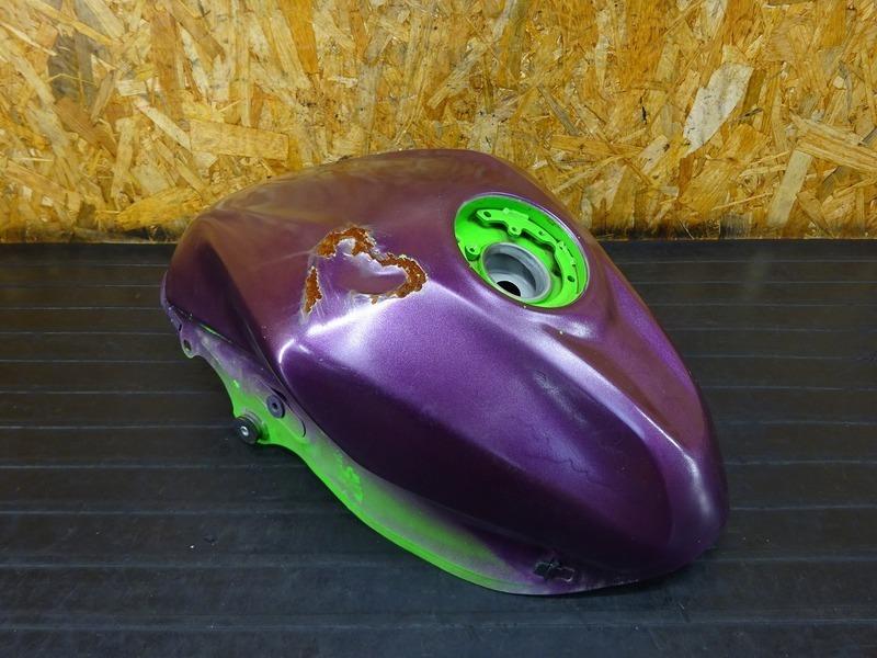 【210818】Ninja250SL(BX250A-A16)■ 燃料タンク ガソリンタンク フューエルタンク ジャンク!! ※検:Z250SL 【NINJA ニンジャ | 中古バイクパーツ通販・買取 ジャンクヤード鳥取 JunkYard