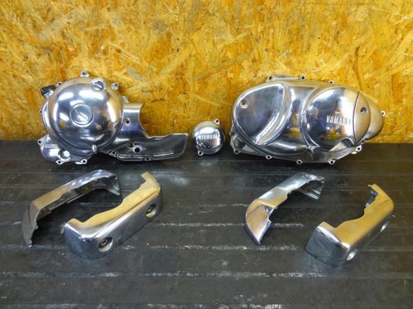 [160325]ビラーゴ400(2NT)◎エンジンカバー SET【26M エンジン | 中古バイクパーツ通販・買取 ジャンクヤード鳥取 JunkYard
