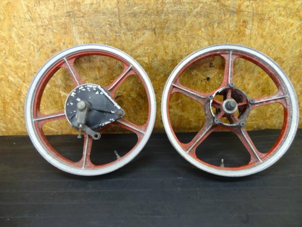 【160924】GPZ250(EX250C)◆ホイール フロント/リア 塗装ベース? | 中古バイクパーツ通販・買取 ジャンクヤード鳥取 JunkYard