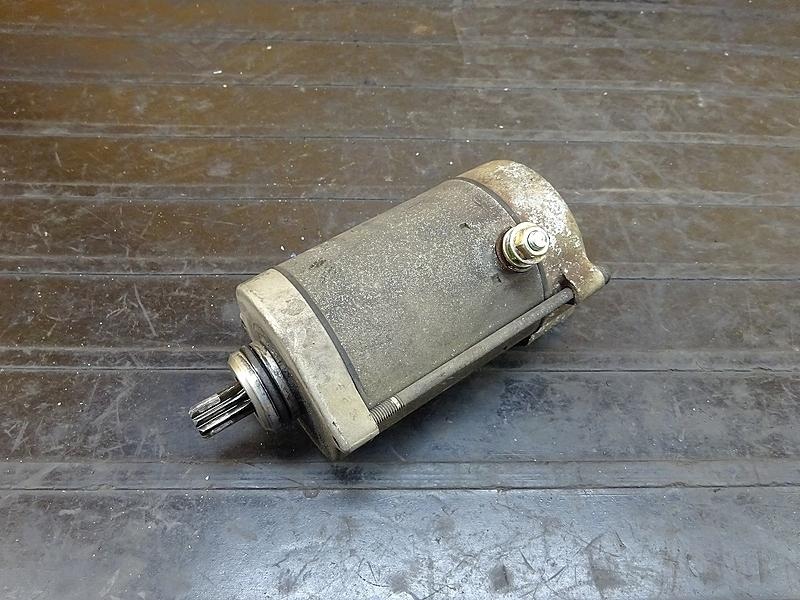 【180726.H】GB250クラブマン1型(MC10-1023)● スターター セルモーター | 中古バイクパーツ通販・買取 ジャンクヤード鳥取 JunkYard