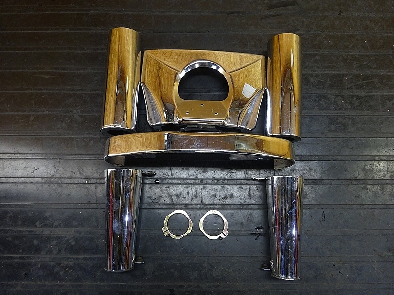 【181211.K】バルカン1500クラシックツアラー (VNT50G-001)● フォークカバー フロントメッキカバー | 中古バイクパーツ通販・買取 ジャンクヤード鳥取 JunkYard