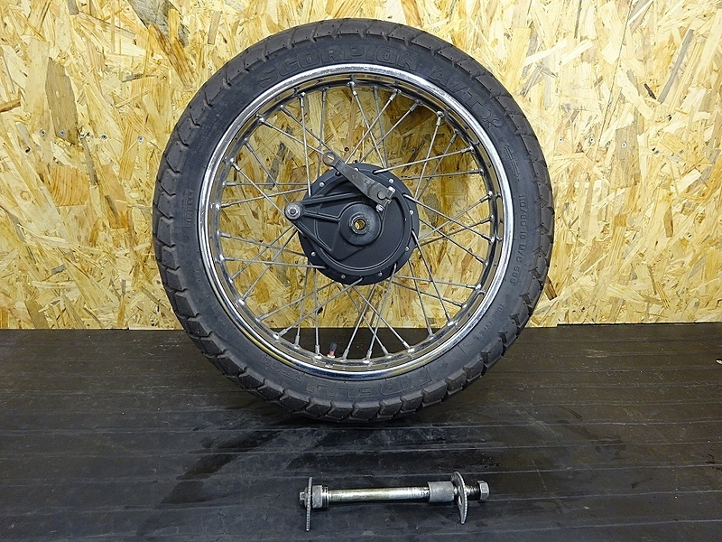 【190313.H】XL230(MC36-1001)● リアホイール(18×2.15) ブレーキドラム アクスルシャフト | 中古バイクパーツ通販・買取 ジャンクヤード鳥取 JunkYard