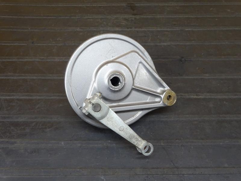 【210104】CB125T(JC06-1600)■ リアブレーキドラム ドラムパネル | 中古バイクパーツ通販・買取 ジャンクヤード鳥取 JunkYard