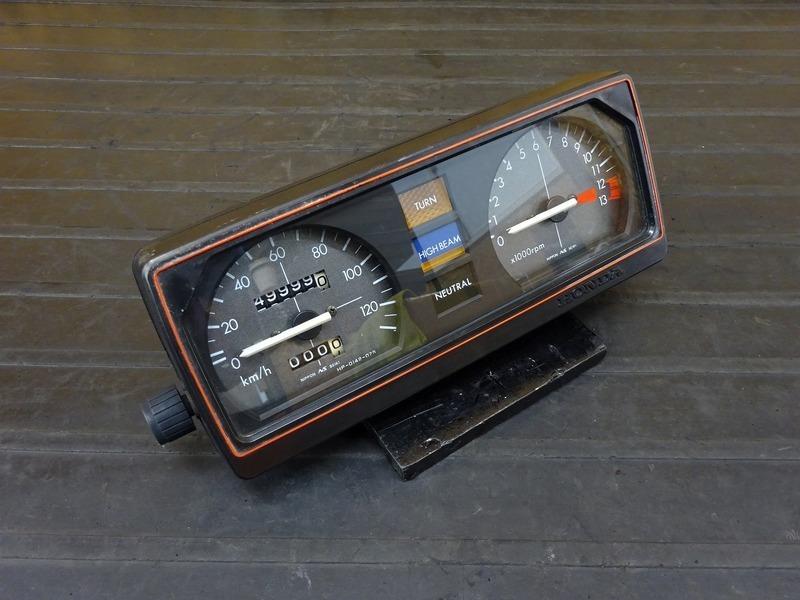 【210104】CB125T(JC06-1600)■ スピードメーター タコメーター インジケーターランプ 49999㎞   中古バイクパーツ通販・買取 ジャンクヤード鳥取 JunkYard