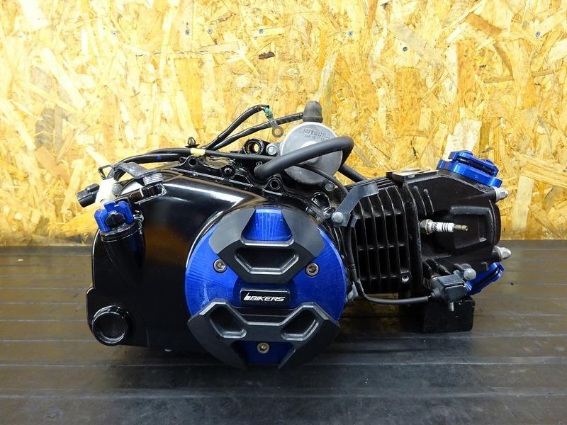 【210409】GROM(JC61-1102)■ 中古エンジン 始動確認取り外し!! ホンダ純正 社外エンジンカバー バイカーズ 【グロム 前期 MSX125 JC75 | 中古バイクパーツ通販・買取 ジャンクヤード鳥取 JunkYard