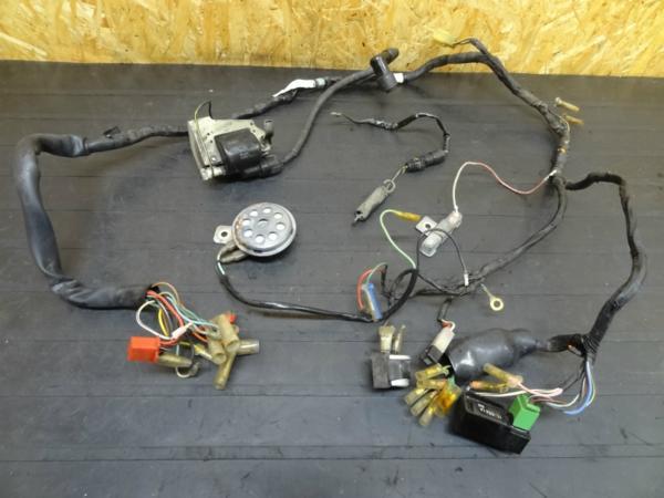 【141220】シャリー50(CF50)◎メインハーネスIGコイル電装6V | 中古バイクパーツ通販・買取 ジャンクヤード鳥取 JunkYard
