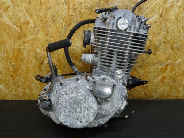 【150205】SR400(1JR)◆エンジン クランキングOK!! キック付 | 中古バイクパーツ通販・買取 ジャンクヤード鳥取 JunkYard