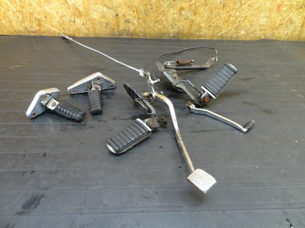 【170121】エリミネータ-250(EL250A)◆メインステップ ペダル | 中古バイクパーツ通販・買取 ジャンクヤード鳥取 JunkYard