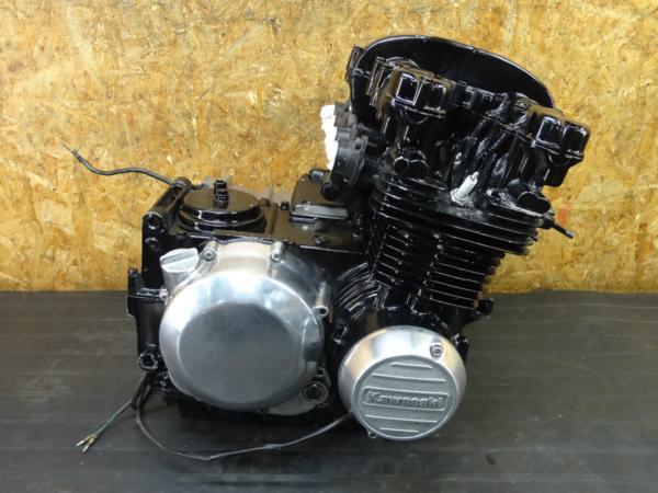 【170524】Z400FX(KZ400E-000)◇エンジン セルモーター クランキングOK 部品取りに!! 【旧車 検索:Z500FX Z550FX Z400J | 中古バイクパーツ通販・買取 ジャンクヤード鳥取 JunkYard