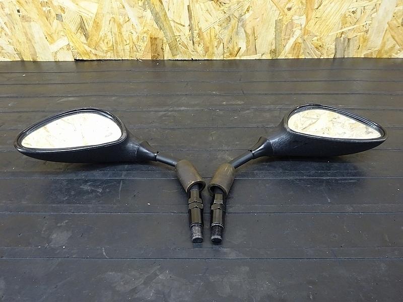 【190327.H】GROM(JC61-1002)★ 社外ミラー 左右セット カーボン柄 【グロム 前期 MSX125 JC75 | 中古バイクパーツ通販・買取 ジャンクヤード鳥取 JunkYard