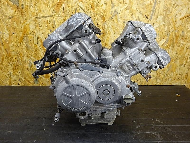 【190626.H】VT250スパーダ(MC20-1013)● エンジン クランク ミッション ギア クラッチ ベースに? 始動OK? 難有 | 中古バイクパーツ通販・買取 ジャンクヤード鳥取 JunkYard