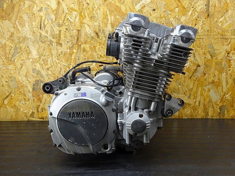 【200224】XJR1300(RP01J-002)■ 中古エンジン 始動確認後取り外し!! セルモーター オルタネータ ダイナモ ジェネレーター 48058㎞ | 中古バイクパーツ通販・買取 ジャンクヤード鳥取 JunkYard