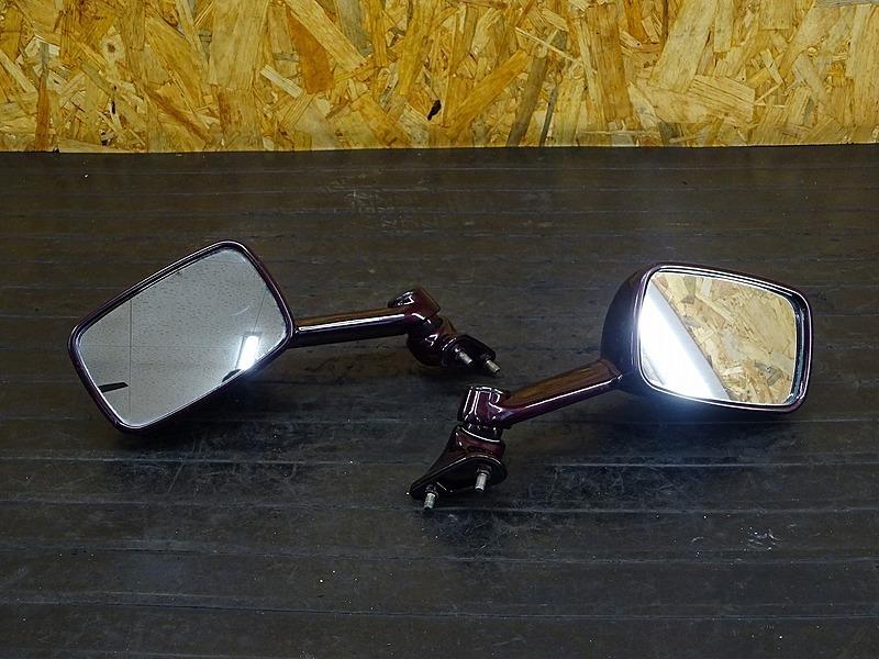 【200313】ZZR400(ZX400N-020)◇ 純正ミラー左右セット 【ZZ-R400 N5型 | 中古バイクパーツ通販・買取 ジャンクヤード鳥取 JunkYard