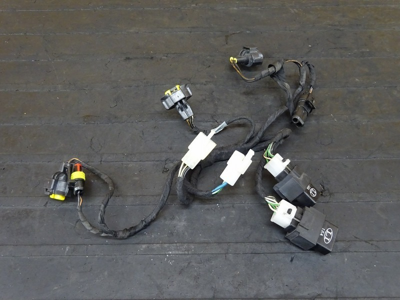 【201019】アプリリア RSV4ファクトリー■ サブハーネス ヘッドライトハーネス 【aprilia FACTORY APRC | 中古バイクパーツ通販・買取 ジャンクヤード鳥取 JunkYard