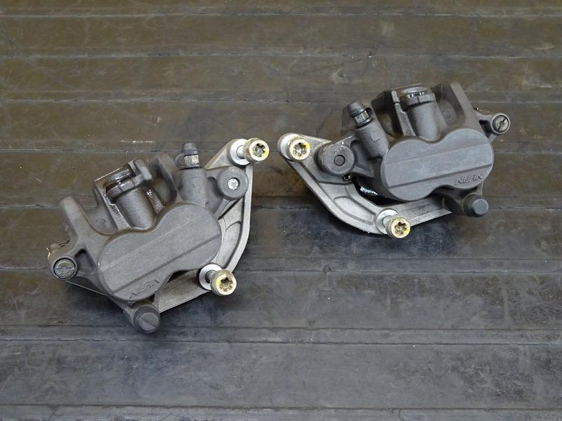 【210329】BMW C650GT '16◇ フロントブレーキキャリパー左右セット NISSIN ニッシン | 中古バイクパーツ通販・買取 ジャンクヤード鳥取 JunkYard