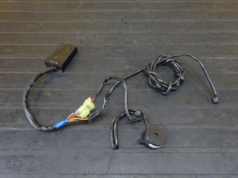 【210409】GROM(JC61-1102)■ アラームシステム セキュリティ 防犯アラーム 盗難防止 盗難警報装置 【グロム 前期 MSX125 JC75 | 中古バイクパーツ通販・買取 ジャンクヤード鳥取 JunkYard