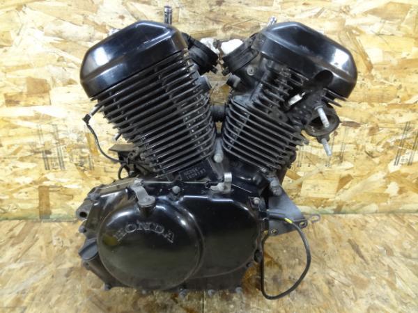 VRX400ロードスター(NC33-1050)◎エンジン 始動OK!! 黒 【NC25E | 中古バイクパーツ通販・買取 ジャンクヤード鳥取 JunkYard