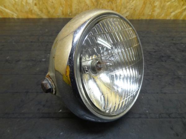 【150109】RD50(481)◎ヘッドライト 6V レンズケース【ミニトレ? | 中古バイクパーツ通販・買取 ジャンクヤード鳥取 JunkYard