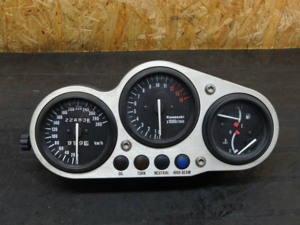 【150617】ZX-9R(B型)◇メーターユニット スピード 難有 【Ninja | 中古バイクパーツ通販・買取 ジャンクヤード鳥取 JunkYard