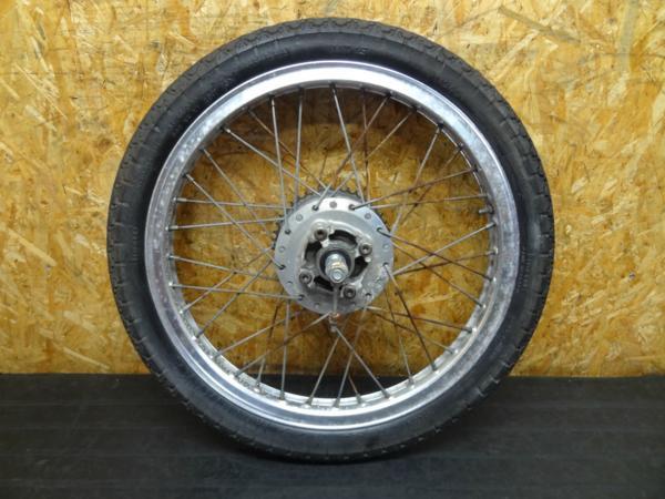 【150701】ドリーム50(AC15)◆リアホイール アクスル付 難有 | 中古バイクパーツ通販・買取 ジャンクヤード鳥取 JunkYard