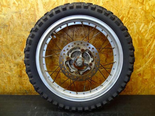 【150830】SL230(MD33)◎リアホイール 18×2.15 チューブレス | 中古バイクパーツ通販・買取 ジャンクヤード鳥取 JunkYard
