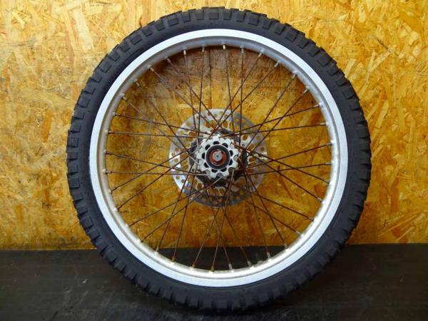 【150830】SL230(MD33)◎フロントホイール 21×1.60 難有 | 中古バイクパーツ通販・買取 ジャンクヤード鳥取 JunkYard