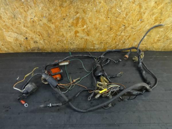 【160209】CB450(CB450K1)◇メインハーネス レクチファイヤー | 中古バイクパーツ通販・買取 ジャンクヤード鳥取 JunkYard