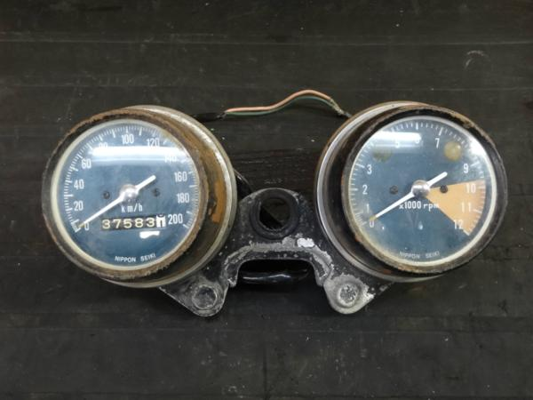 【160209】CB450(CB450K1)◇メーター スピード/タコ 難有 | 中古バイクパーツ通販・買取 ジャンクヤード鳥取 JunkYard