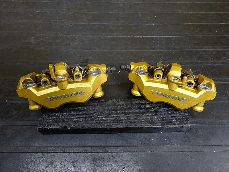 【190501.K】ZX-10R'04-05● フロントブレーキキャリパー左右 ラジアル 【C型 ZX1000C ニンジャ | 中古バイクパーツ通販・買取 ジャンクヤード鳥取 JunkYard