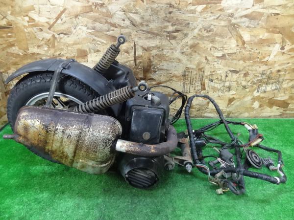 リード125(JF01-1011)◎2stエンジンホイールチャンバーキャブCDI   中古バイクパーツ通販・買取 ジャンクヤード鳥取 JunkYard