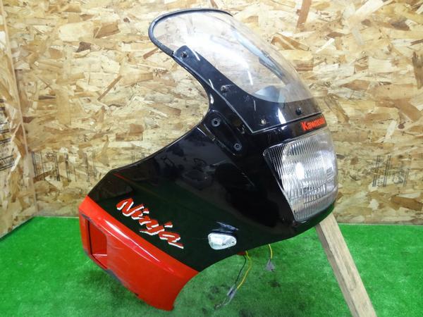 GPZ400R(ZX400D-044)◎純正アッパーカウル ヘッドライト ステー   中古バイクパーツ通販・買取 ジャンクヤード鳥取 JunkYard