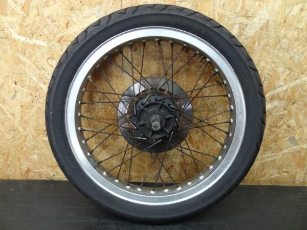 【140803】CB250RS(MC02)◎フロントホイール 18×1.85 アクスル   中古バイクパーツ通販・買取 ジャンクヤード鳥取 JunkYard