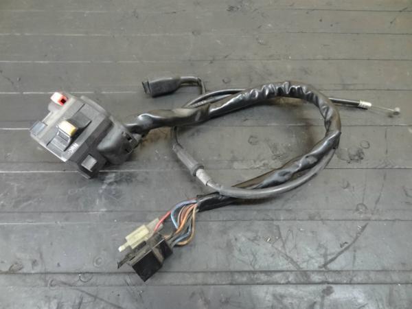 【140716】ZZR1100(ZXT10C)◎ハンドルスイッチ 左 チョーク | 中古バイクパーツ通販・買取 ジャンクヤード鳥取 JunkYard