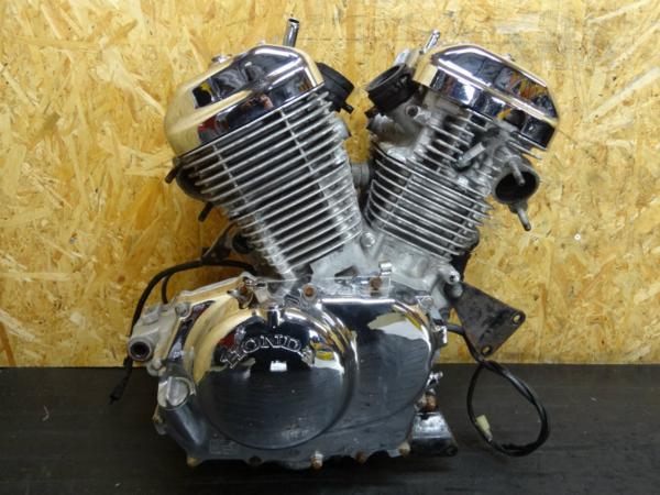 【150213】スティード400(NC26)◆エンジン 初爆確認後取外し | 中古バイクパーツ通販・買取 ジャンクヤード鳥取 JunkYard