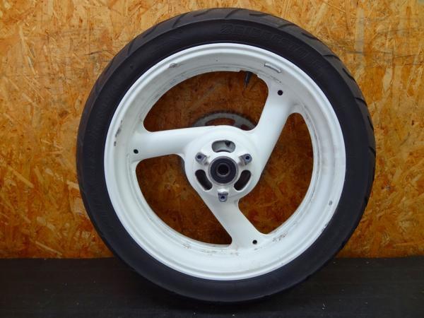 【151002】FZR400RR(3TJ)◎リアホイール 17×4.50 ハブダンパー   中古バイクパーツ通販・買取 ジャンクヤード鳥取 JunkYard