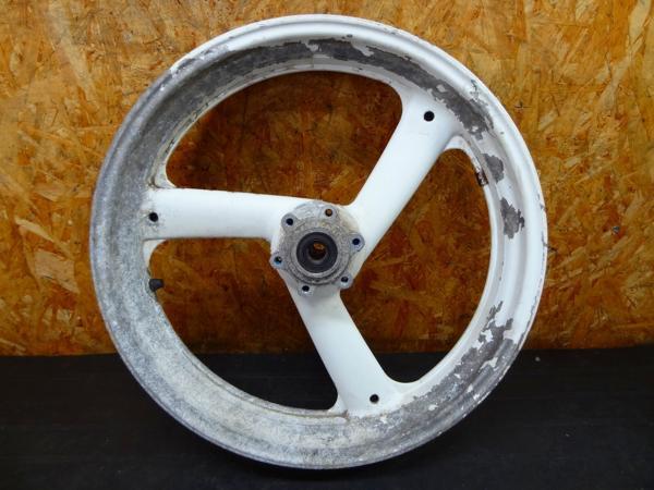 【151002】FZR400RR(3TJ)◎フロントホイール 17×3.50   中古バイクパーツ通販・買取 ジャンクヤード鳥取 JunkYard