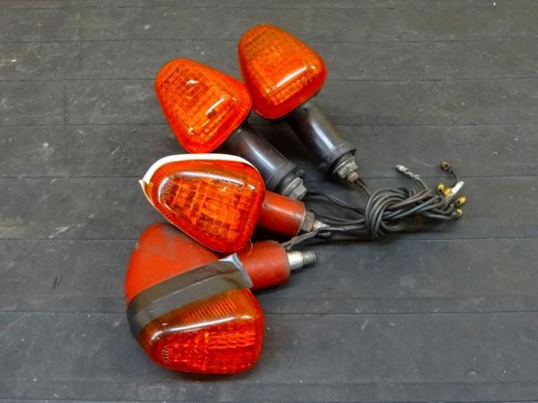 【151002】FZR400RR(3TJ)◎ウインカー 四個セット 一台分 難有   中古バイクパーツ通販・買取 ジャンクヤード鳥取 JunkYard