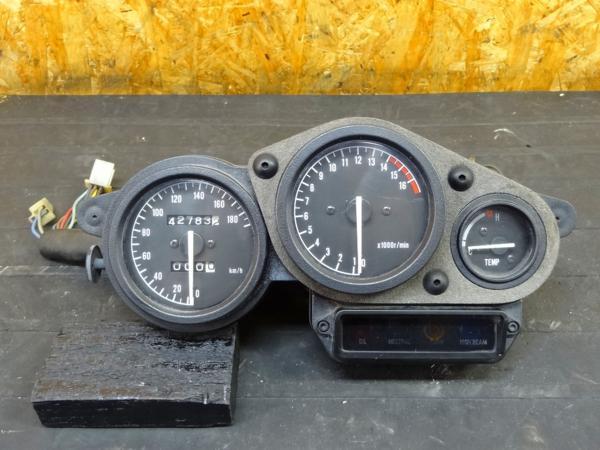 【151002】FZR400RR(3TJ)◎メーター スピード タコ テンプ   中古バイクパーツ通販・買取 ジャンクヤード鳥取 JunkYard