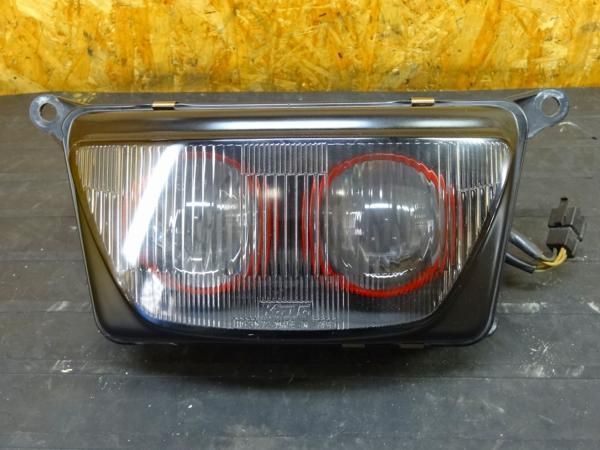 【151002】FZR400RR(3TJ)◎ヘッドライト 二灯式プロジェクター   中古バイクパーツ通販・買取 ジャンクヤード鳥取 JunkYard
