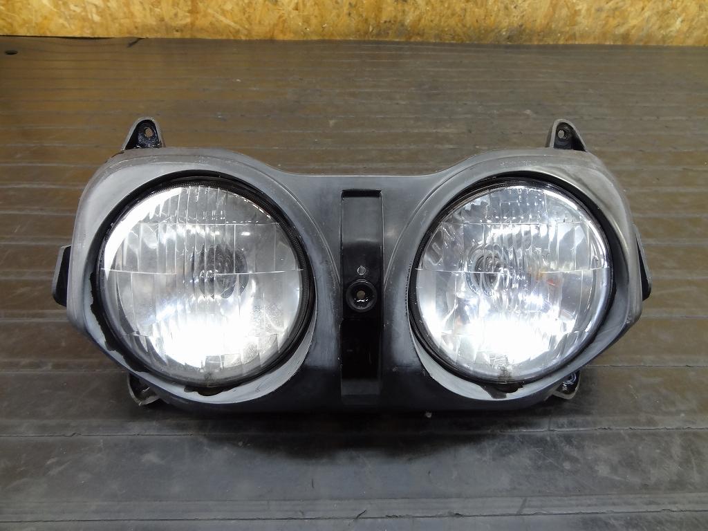 【180205.H】NS-1(AC12-1033)●ヘッドライト レンズ 2目 2灯【N1 エヌワン NSR50 | 中古バイクパーツ通販・買取 ジャンクヤード鳥取 JunkYard