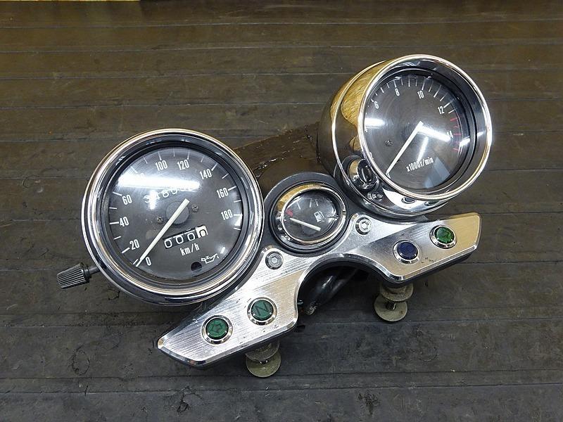 【200515】イナズマ400(GK7BA-102)■ スピードメーター タコメーター インジケーターランプ 34805㎞ メーターカバー メッキ | 中古バイクパーツ通販・買取 ジャンクヤード鳥取 JunkYard
