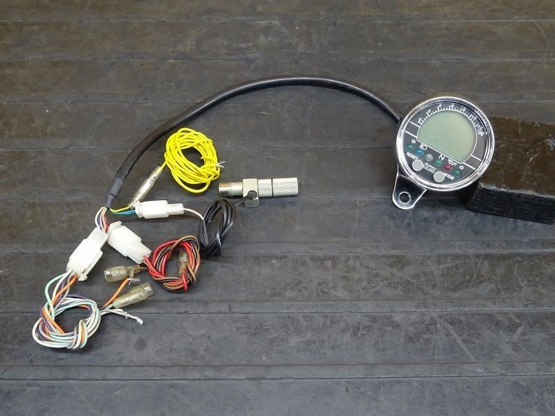 【200602】■ 社外スピードメーター ACEWELL ACE-2802 デジタルメーター | 中古バイクパーツ通販・買取 ジャンクヤード鳥取 JunkYard