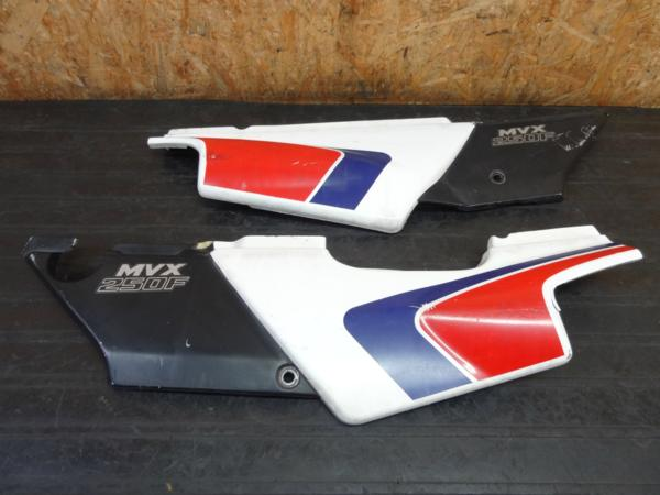 【160701】MVX250F(MC09)◇サイドカバー 左右 カウル 外装 難有 | 中古バイクパーツ通販・買取 ジャンクヤード鳥取 JunkYard