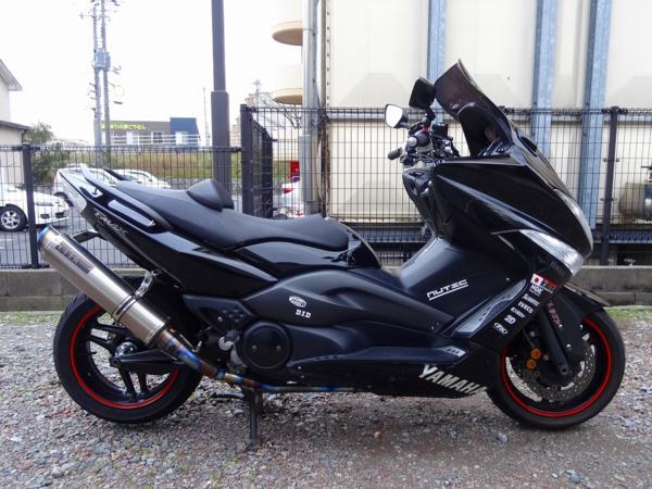 T-MAX500(SG08J)☆エンジン始動 OVERマフラー付 | 中古バイクパーツ通販・買取 ジャンクヤード鳥取 JunkYard