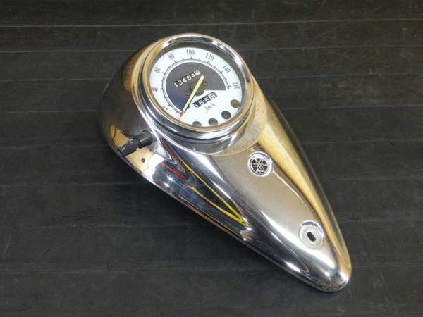 【170513】ドラッグスター250(VG02J-003)◇スピードメーター メッキカバー | 中古バイクパーツ通販・買取 ジャンクヤード鳥取 JunkYard
