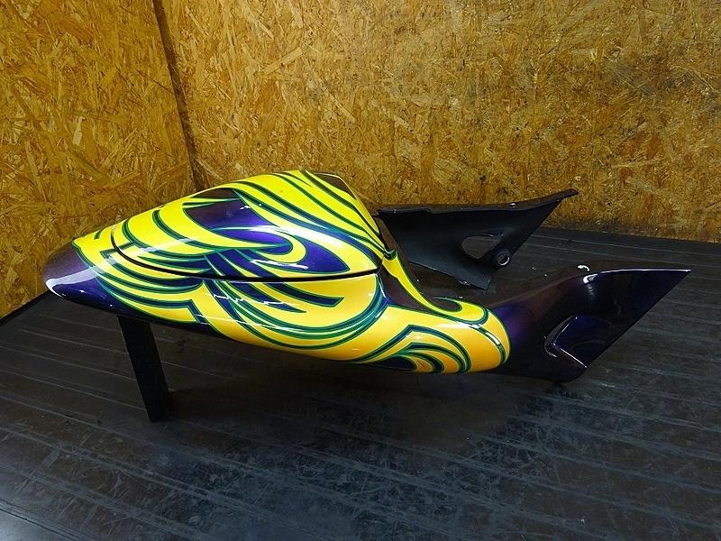 【180831.F】Buell XB9S ライトニング● テールカウル シートカウル シングルシートに!? 【ビューエル | 中古バイクパーツ通販・買取 ジャンクヤード鳥取 JunkYard